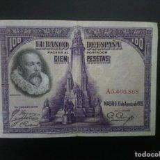 Billetes españoles: BILLETE DE 100 PTAS DE 1928 . . .. ..ES EL DE LAS FOTOS. Lote 198913787