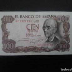 Billetes españoles: BILLETE DE 100 PTAS DE 1970.. PRECIOSO . . .. ..ES EL DE LAS FOTOS. Lote 198914128