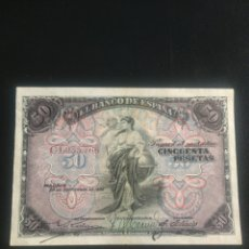 Billetes españoles: 50 PESETAS 1906. Lote 199192766