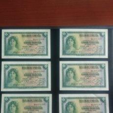 Billetes españoles: 5 PESETAS 1935. Lote 199194116
