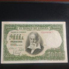 Billetes españoles: 1000 PESETAS 1951. Lote 199194692