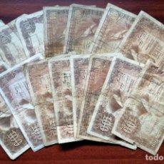 Billetes españoles: LOTE DE 16 BILLETES DE 100 PESETAS. BANCO DE ESPAÑA. VARIOS AÑOS (1948, 1953, 1970). Lote 199697186