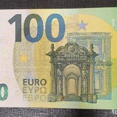 Billetes españoles: BILLETE 100 EUROS 2019 ESPAÑA FIRMA MARIO DRAGHI V004ES. Lote 200102211