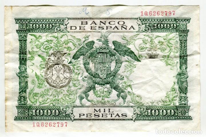 1000 (MIL) PESETAS REYES CATOLICOS MADRID 29 DE NOVIEMBRE DE 1957 (Numismática - Notafilia - Billetes Españoles)