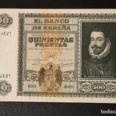 Billetes españoles: BILLETE 500 PESETAS 1940 JUAN DE AUSTRIA A0819021 . Lote 200611075