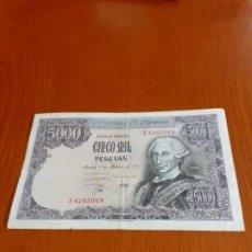 Billetes españoles: BILLETE DE ESPAÑA DE 5000PTS. Lote 201148465