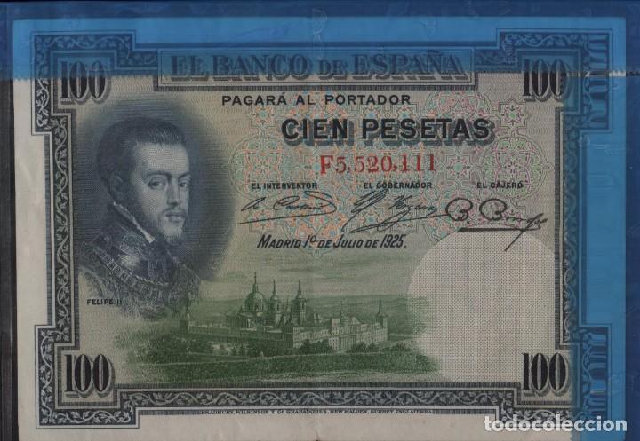 Billetes españoles: ESPAÑA 100 PESETAS 1925 - Foto 3 - 202007351