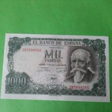 Billetes españoles: EBC+1000 PESETAS SERIE 2B7898585 17 SEPTIEMBRE 1971 ECHEGARAY BANCO DE ESPAÑA. Lote 202259486