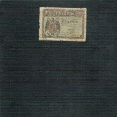 Billetes españoles: BILLETE DE 1 PTS 1938 AGUILA. Lote 202708631
