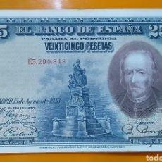 Billetes españoles: BILLETE DE 25 PESETAS DE 1928, MBC. Lote 203522562