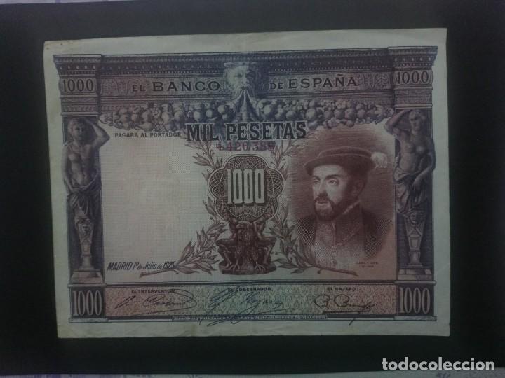 1000 PTAS DE 1925.. PRECIOSO . . . .. ES EL DE LAS FOTOS (Numismática - Notafilia - Billetes Españoles)