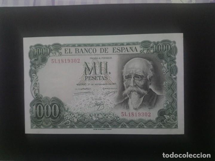 1000 PTAS DE 1971. EBC +. . .. ES EL DE LAS FOTOS (Numismática - Notafilia - Billetes Españoles)