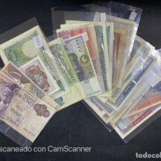 Billetes españoles: LOTE DE 30 BILLETES VER TODAS LAS FOTOS. ANVERSO Y REVERSO.. Lote 203972497
