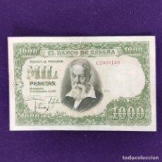 Billetes españoles: BILLETE DE 1000 PESETAS. 1951. JOAQUIN SOROLLA. CON LIGERA DOBLEZ CENTRAL. ORIGINAL.. Lote 204021692