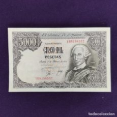 Billetes españoles: BILLETE DE 5000 PESETAS. 1976. CARLOS III. SERIE 1B. SIN CIRCULAR. ORIGINAL.. Lote 204022058