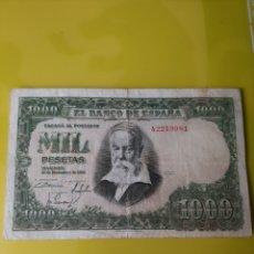 Billetes españoles: A2219981 1000 PESETAS 31 DICIEMBRE 1951 BANCO ESPAÑA NUMISMÁTICA COLISEVM. Lote 204156406