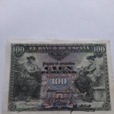 Billetes españoles: ESPAÑA 100 PESETAS 39 JUNIO 1906 SERIE D 32.298019 BANCO ESPAÑA NUMISMÁTICA COLISEVM. Lote 204263828