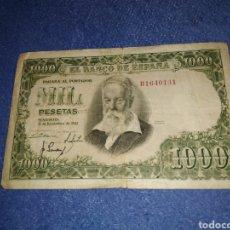 Billetes españoles: BILLETE 1000 PESETAS 1951. Lote 205590972