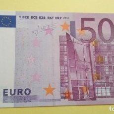 Billetes españoles: 500 EUROS DE LA SEGUNDA FIRMA DE TRICHET, SIN CIRCULAR/PLANCHA. Lote 206776317