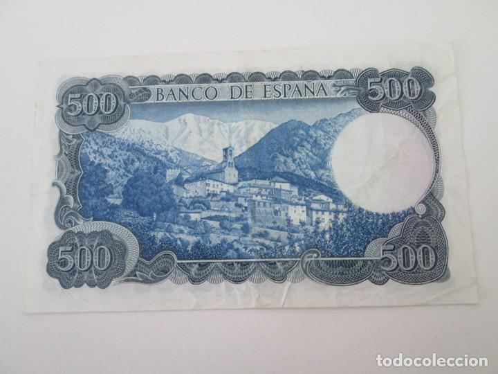 Billetes españoles: BILLETE * 500 PESETAS 23 DE JULIO DE 1971 * SERIE ESPECIAL DE SUSTITUCION 9A - Foto 2 - 207357630