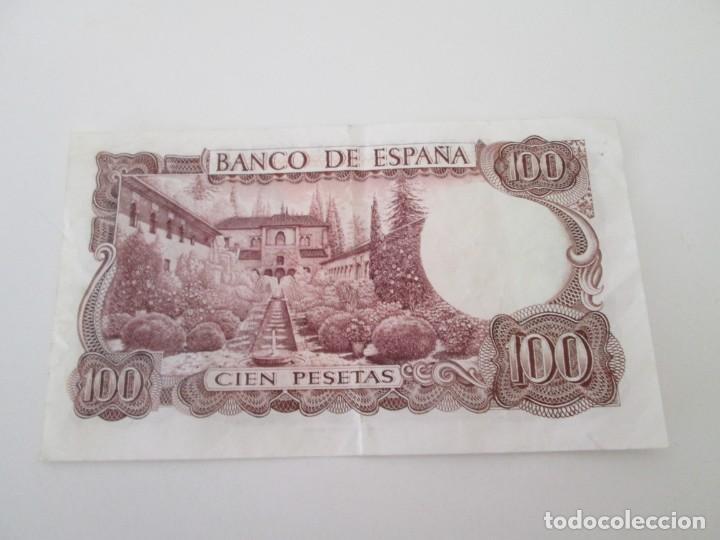 Billetes españoles: BILLETE * 100 PESETAS 17 DE NOVIEMBRE DE 1970 * SERIE ESPECIAL DE SUSTITUCION 9B - Foto 2 - 207357765