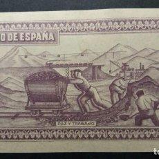 Billetes españoles: GIJÓN PRUEBA DE REVERSO DE BILLETE 1937 SIN CIRCULAR SC. Lote 207985610