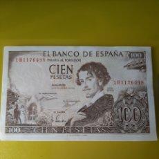Billetes españoles: 1H 1176498 SC 19 SEPTIEMBRE 1965 100 PESETAS BECQUER NUMISMÁTICA COLISEVM. Lote 209853040