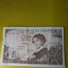 Billetes españoles: 1H 169 8145 100 PESETAS 19 NOVIEMBRE 195 BEQUER ESPAÑA NUMISMÁTICA COLISEVM. Lote 209858508