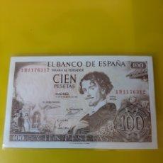 Billetes españoles: 1 H 1176312 SÍN CIRCULAR 100 PESETAS 19 NOVIEMBRE 1965 ESPAÑA NUMISMÁTICA COLISEVM. Lote 209932248