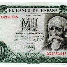 Billets espagnols: BILLETE DE ESPAÑA DE 1000 PESETAS DE 1971 CIRCULADO. Lote 210623887