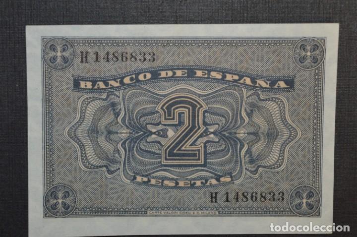 Billetes españoles: 3 BILLETES 2 Pts - 30 Abril 1938 Catedral BURGOS, Plancha / Correlativos H 1486833 / 34 / 35 ¡MIra! - Foto 8 - 211387615