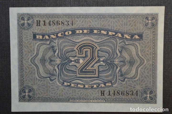 Billetes españoles: 3 BILLETES 2 Pts - 30 Abril 1938 Catedral BURGOS, Plancha / Correlativos H 1486833 / 34 / 35 ¡MIra! - Foto 10 - 211387615