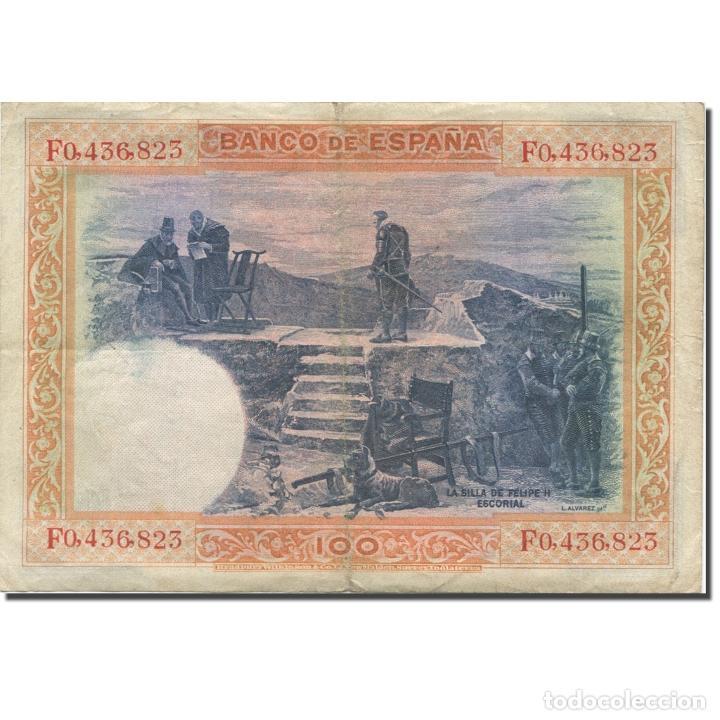 Billetes españoles: Billete, 100 Pesetas, 1925, España, 1925-07-01, KM:69c, BC+ - Foto 2 - 211981286