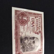 Billetes españoles: BILLETE DE 1 PESETA EMISIÓN 22 JULIO 1953 SERIE X SIN CIRCULAR. Lote 212833872