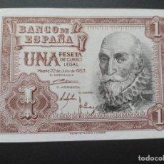 Billetes españoles: 1 PESETA 1953 (SERIE G) EBC+. Lote 214199043