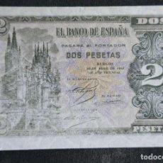 Billetes españoles: DOS PESETAS **BURGOS**30 DE ABRIL DE 1938. MÁS BILLETES EN MI PÁGINA. Lote 215983840
