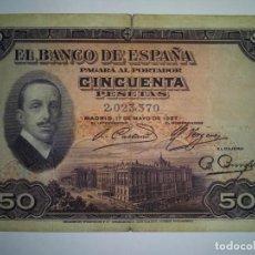 Billetes españoles: BILLETE CLASICO BANCO ESPAÑA. Lote 217419946