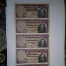 Billetes españoles: BILLETE CLASICO BANCO DE ESPAÑA. Lote 217421315