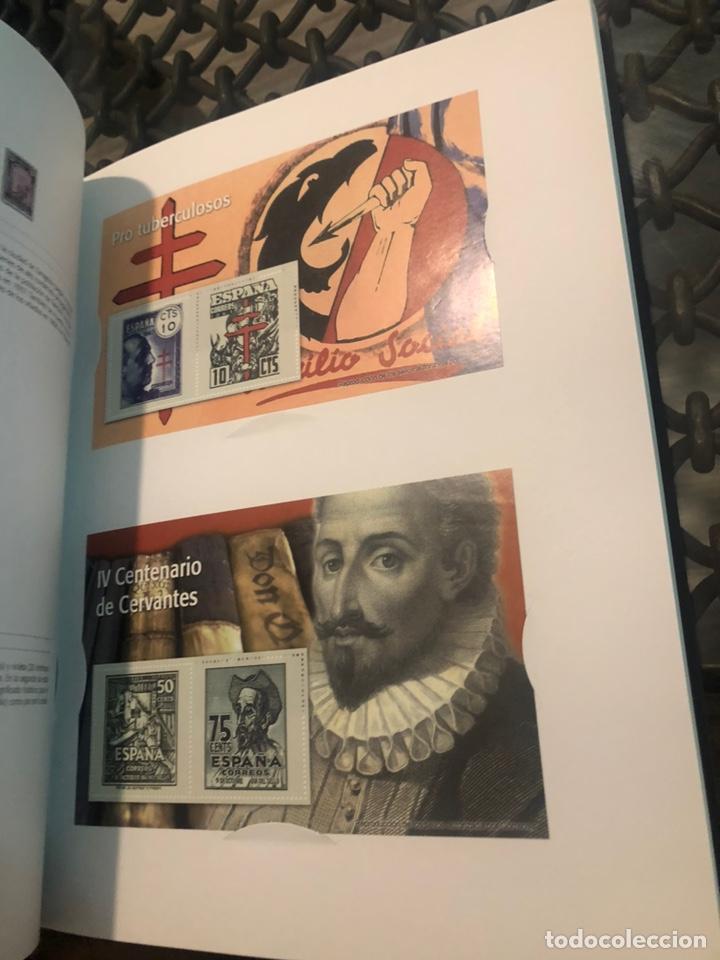 Billetes españoles: EL FRANQUISMO EN SELLOS Y BILLETES.40 AÑOS DE HISTORIA DE ESPAÑA EN SELLOS PAPEL MONEDA - Foto 2 - 218156885