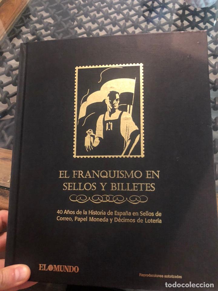 EL FRANQUISMO EN SELLOS Y BILLETES.40 AÑOS DE HISTORIA DE ESPAÑA EN SELLOS PAPEL MONEDA (Numismática - Notafilia - Billetes Españoles)