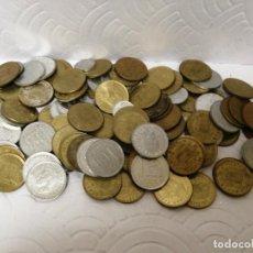 Billetes españoles: LOTE DE MONEDAS DE PESETAS. Lote 219139690