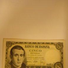 Billetes españoles: BILLETE DE 5 PESETAS DE 1951 LOTE DE 2 BILLETES. Lote 219571676