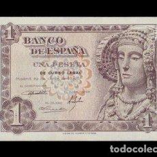 Notas espanholas: ESPAÑA 1 PESETA DAMA DE ELCHE 1948 PICK 135 SERIE Ñ SC- AUNC. Lote 237039430