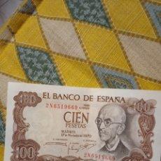 Billetes españoles: BILLETE 1970 100 PESETAS. Lote 220438740
