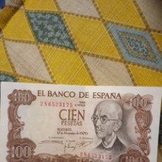 Billetes españoles: BILLETE DE 100 PESETAS 1970. Lote 220438751