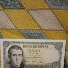 Billetes españoles: BILLETE DE 5 PESETAS. Lote 220438773