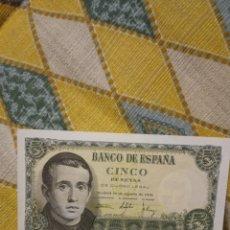 Billetes españoles: BILLETE DE 5 PESETAS. Lote 220438785