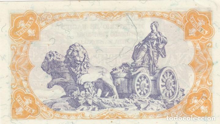 Billetes españoles: BILLETE REPUBLICA ESPAÑOLA - 1 PESETA 1937 PLANCHA - Foto 2 - 220490383