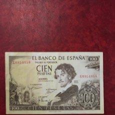 Billetes españoles: BILLETE DE ESPAÑA DE 1965 DE 100 PESETAS. Lote 221103963