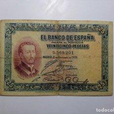 Billetes españoles: SIN SERIE ! BILLETE 25 PESETAS 1926 CIRCULADO *SOLO PAYPAL*. Lote 221416371